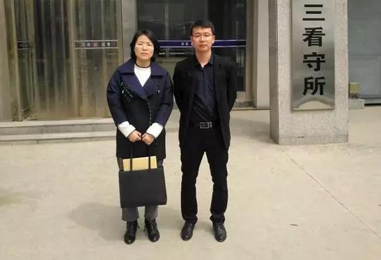 2019年4月28日下午,河南见素王含庆律师、刘娅静律师前往郑州市第三看守所会见涉嫌盗窃罪的犯罪嫌疑人王某。