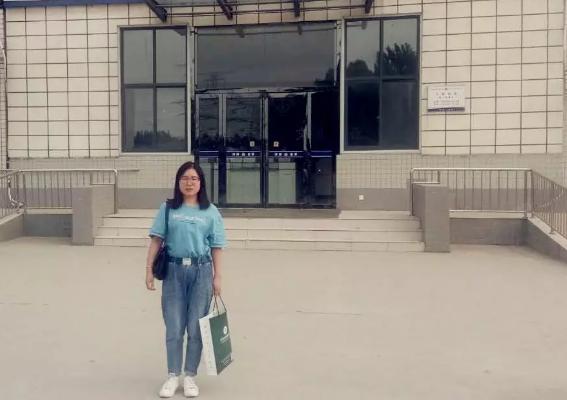 吴培培律师前往郑州市第三看守所会见涉嫌寻衅滋事罪的张某。