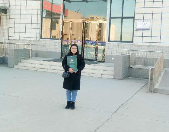 2018年12月12日下午2点吴培培律师在郑州市第三看守所会见涉嫌寻衅滋事罪的嫌疑人陈某。