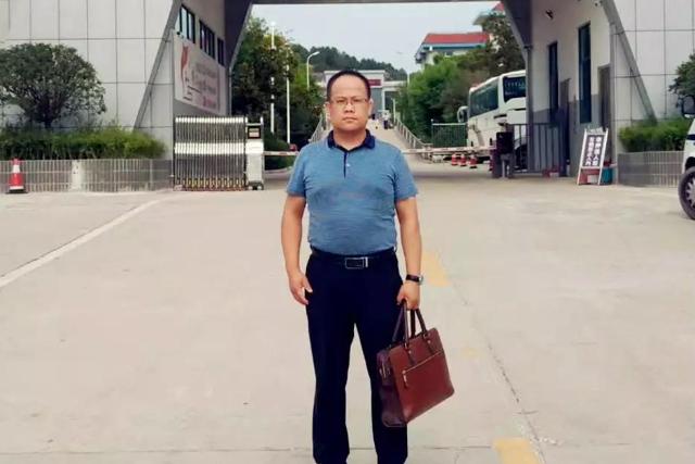 李峰律师到信阳市看守所会见,涉嫌强迫交易敲诈勒索,非法拘禁的左某。